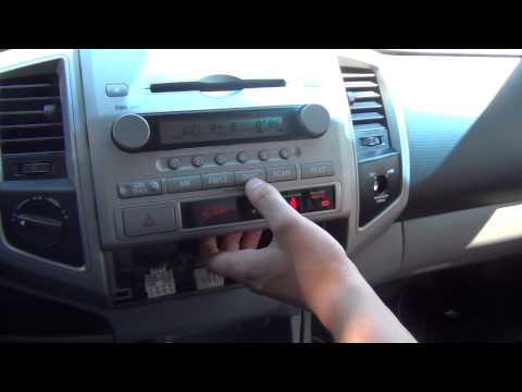 GTA Car Kits - Toyota Tacoma 2005-2012 iPod, iPhone, iPad, mp3 and AUX adapter installation