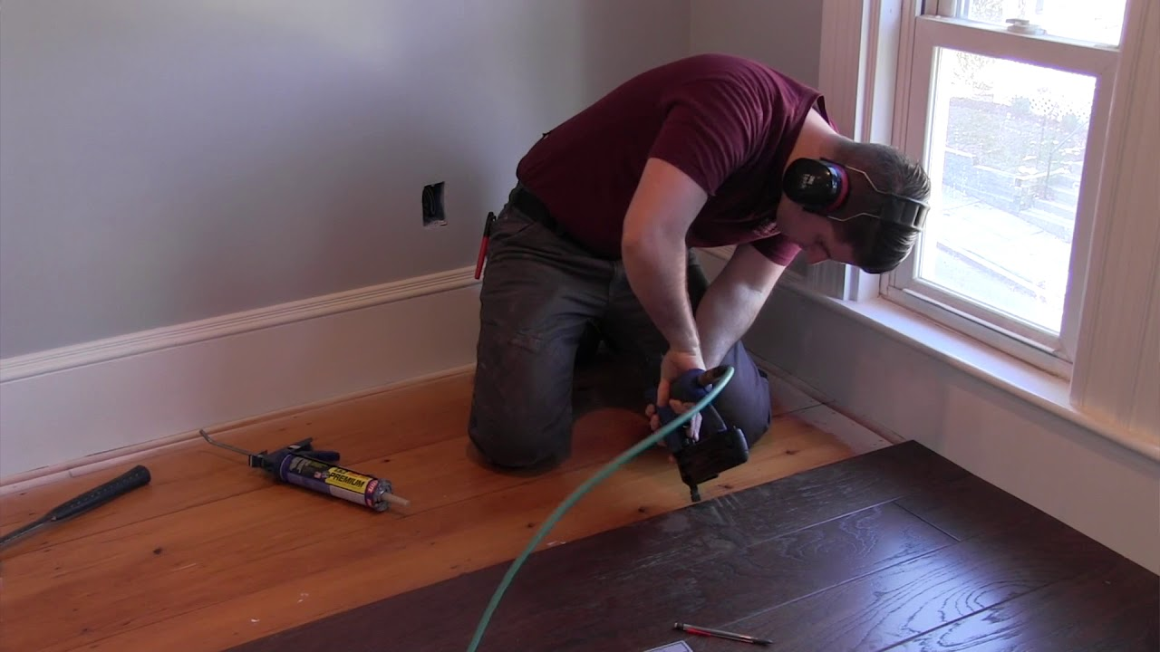 Installing A Shaw Epic Plus Engineered Hardwood Floor