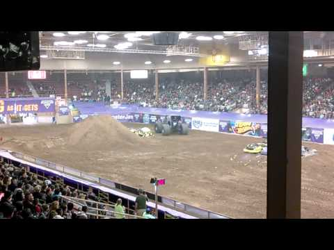 Albuquerque Monster Jam 2014