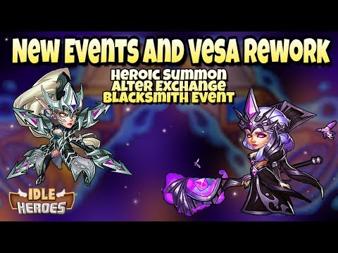 Idle Heroes (O+) - Vesa Rework, New Events and Other Stuff