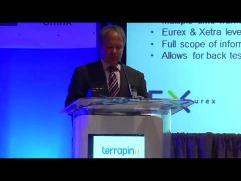 Tim Levandoski of Eurex on the evolution of the financial markets - at The Trading Show Chicago 2013