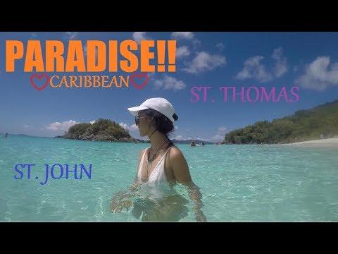 U.S VIRGIN ISLANDS| ST. THOMAS/ST. JOHN TRIP!!