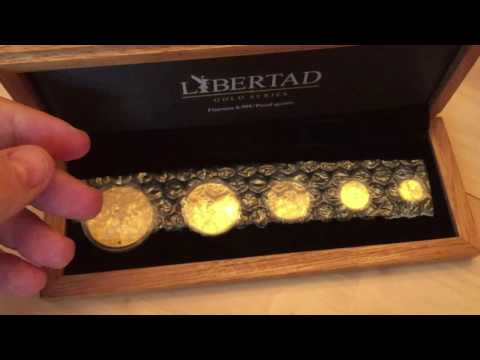Apmex taking liberties with Libertads? Lets unbox a 2015 gold proof set and find out?