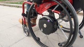 twion Rollstuhl Zusatzantrieb test it