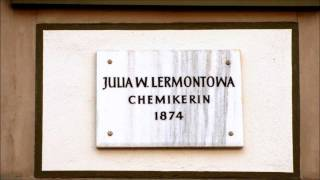 🔴 Julia W. Lermontowa • Chemikerin • 1874 • Hospitalstraße 10 - Göttinger Gedenktafel ...