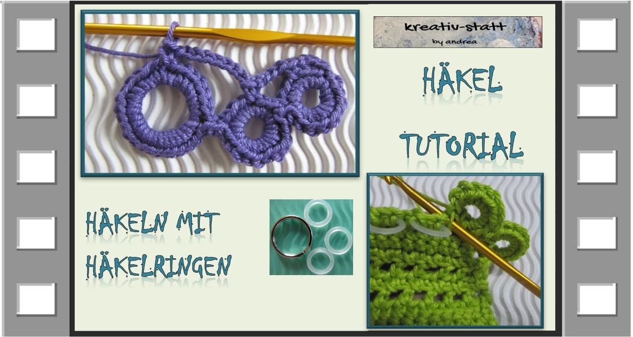 Häkeln Mit Häkel Ringen Crocheting With Crochet Rings Youtube