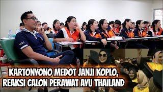 Download lagu KARTONYONO MEDOT JANJI KOPLO, REAKSI CALON PERAWAT AYU THAILAND
