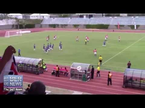 Bermuda Goal Against Puerto Rico, June 5 2015