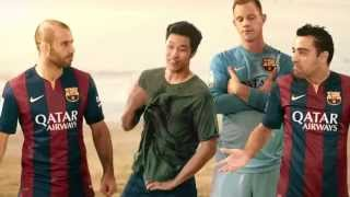 Great commercial with top fcb players for chang