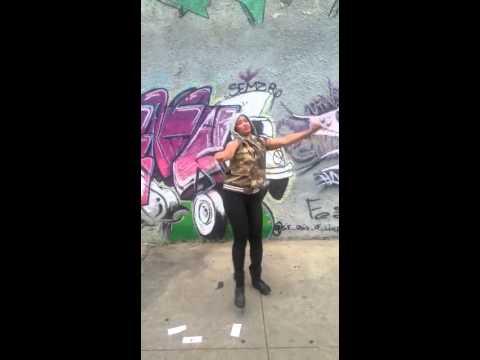 Nikolaevna dancing on Davido