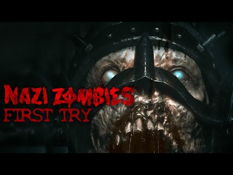 Nazi Zombies First Try? - Call of Duty: WW2 Koop durchgespielt ?