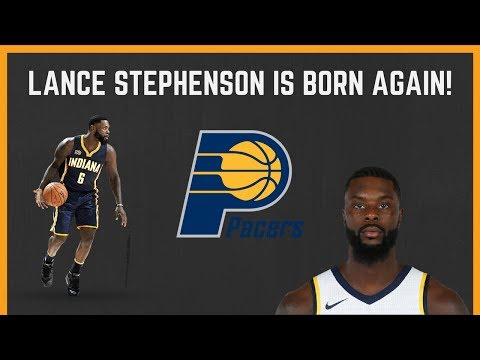 LANCE STEPHENSON: Born Ready is Born Again for the INDIANA PACERS!