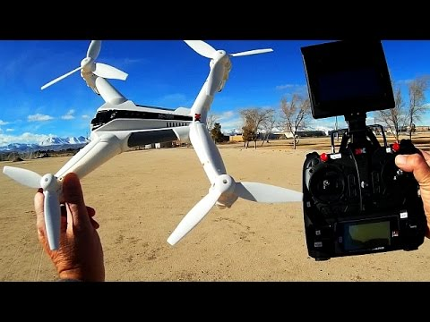 XK X300 F Long Flying Position Hold FPV Drone Review