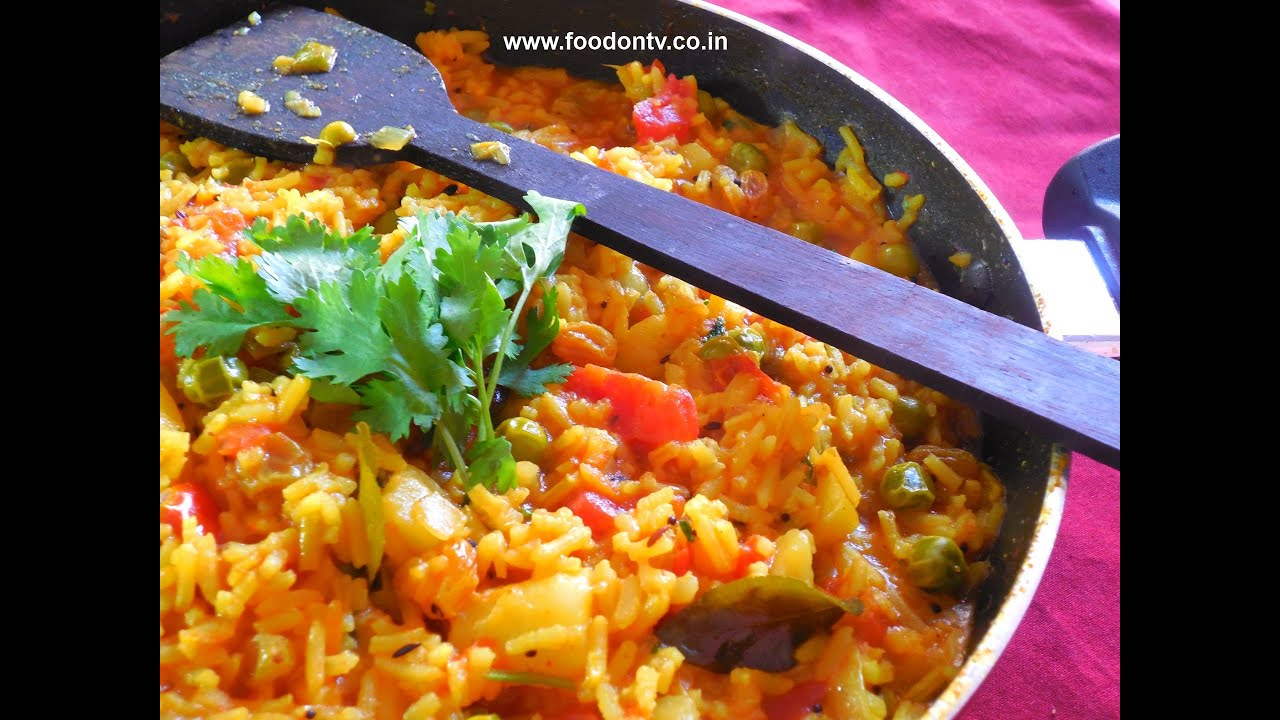 Fried Rice   Rasiya Bhaat   Indian Rice Recipe   Every Day Special ...