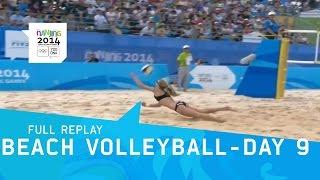 Beach Volleyball - Day 9 Men/Women
