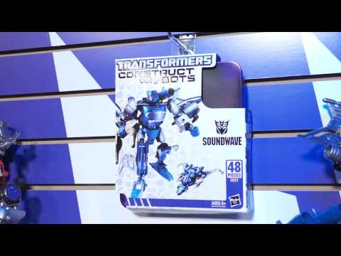 Toy Fair 2013 Transformers Construct-Bots Part 2