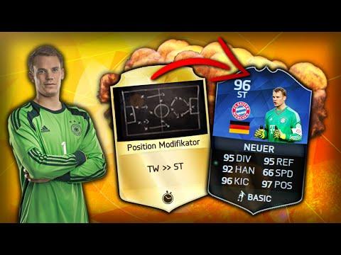 FIFA 16: MANUEL NEUER als STÜRMER