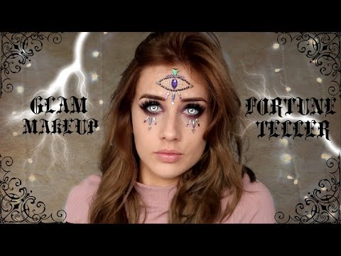Halloween Fortune Teller Makeup.Scary Fortune Teller Halloween Makeup Tagged Videos On Videoholder