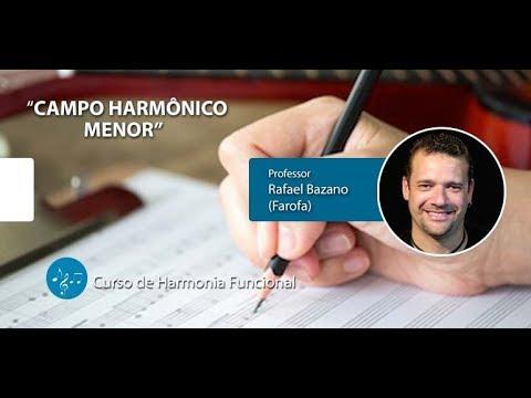 Campo Harmônico Menor - Curso De Harmonia Funcional