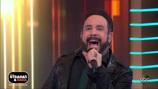 Backstreet Boys perform 'Chances' on 'Strahan and Sara' GMA