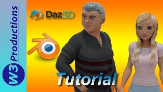 Daz to Blender - Another Look at the Diffeomorphic Daz Importer