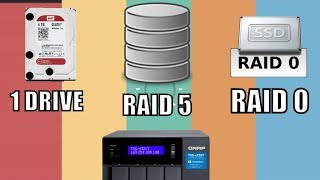NAS Upload Speed Tests - 1x HDD vs 3 HDD RAID 5 vs SSD RAID 0