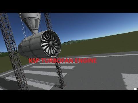 KSP Stock Turbofan Engine 1.2.9/1.3