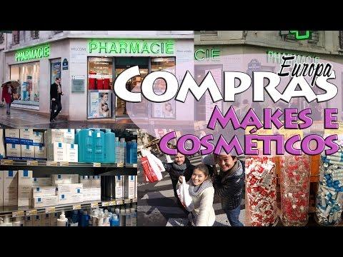 Comprinhas da Europa   Makes e Cosméticos