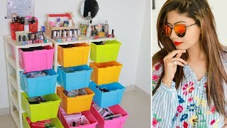 My Makeup Collection And Storage 2018   Rinkal soni
