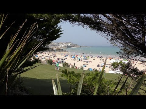 A WALK AROUND THE St IVES BEACHES AT EASTER