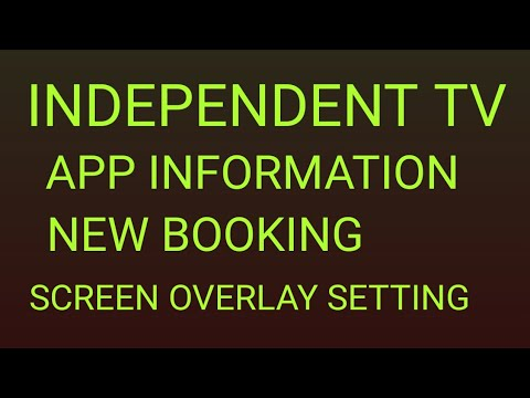 INDEPENDENT TV APP COMPLETE INSTALLATION.NEW BOOKING.