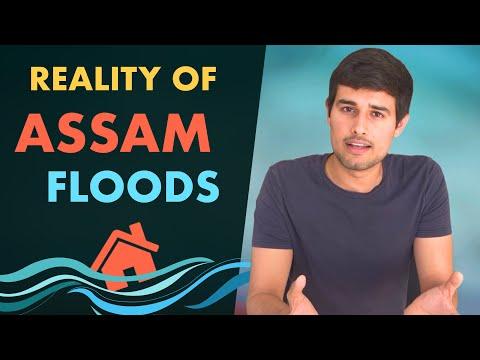 देखिए Assam Floods के पीछे का सच!   Analysis by Dhruv Rathee