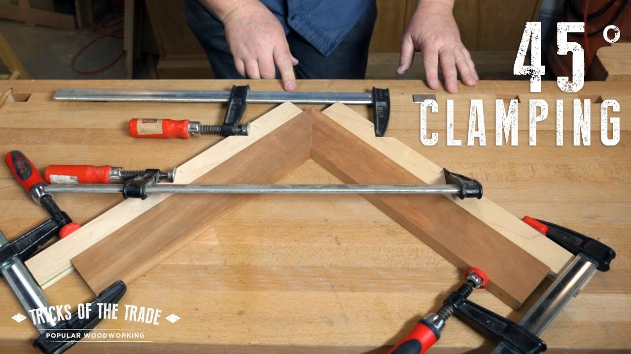 make notched miter clamps | tricks of the trade
