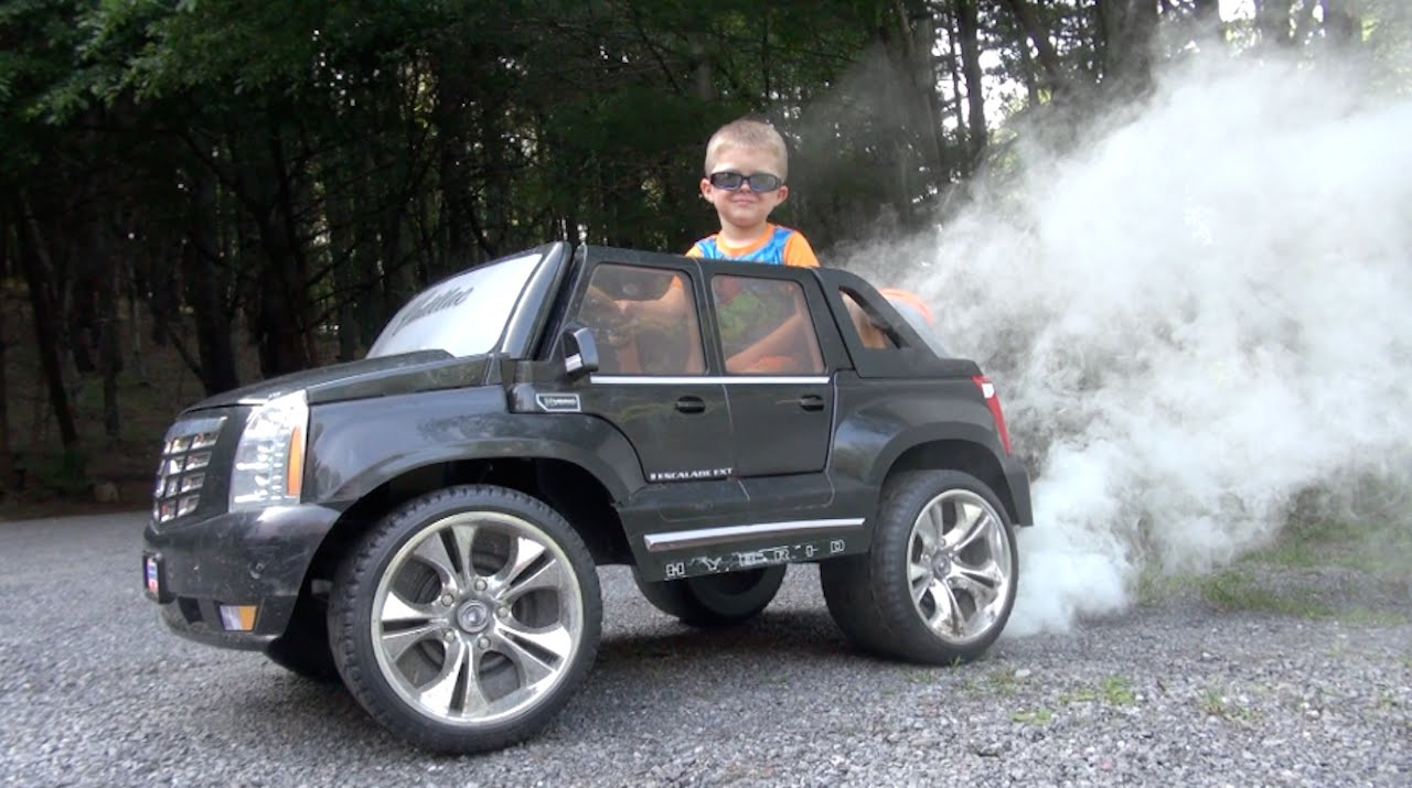 EPIC POWER WHEELS BURNOUT
