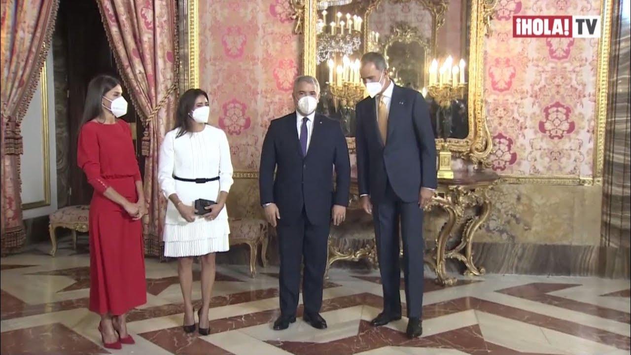 Download Los reyes de España recibieron a Iván Duque y a su esposa en el Palacio Real de Madrid   ¡HOLA! TV
