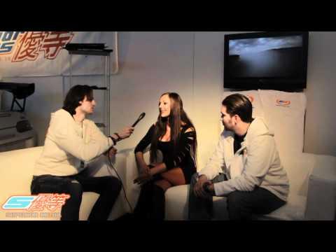 Superior TV träffar Helena från Papaya Models @ Elmia 2011