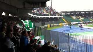 Avellino-Bari 1-0: FINE PRIMO TEMPO e CORI (Avellino-Calcio.it)