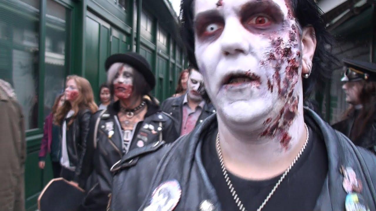 slash zombie walk wien mutiert zum zombieland youtube