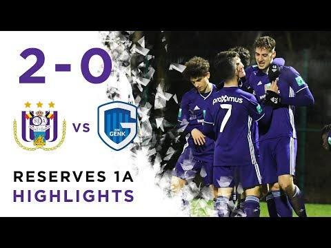 Play-offs Reserves 1A: RSCA 2-0 KRC Genk