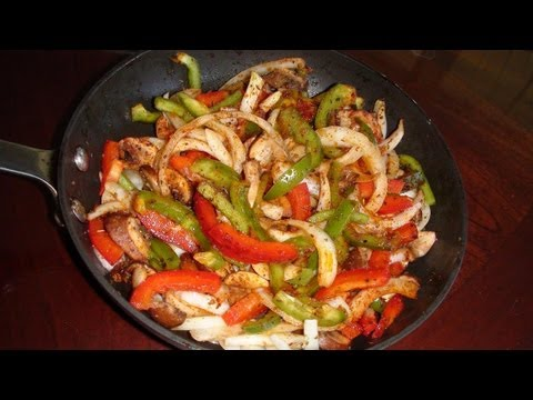 Vegetable Fajitas Recipe video