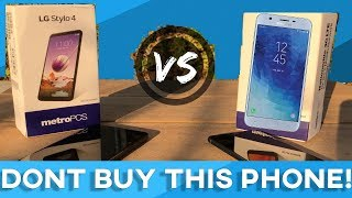 Samsung Galaxy J7 Star Vs LG STYLO 4 - NEW Metro By T-Mobile