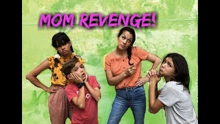 MOMS REVENGE! Mom in CHARGE! Kids can't say no for 24 hours!!!