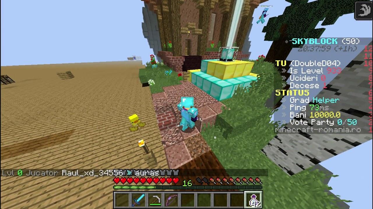 "[Minecraft]SkyBlock Sz.2 Ep.1 ""Mihai27 e harnic"""