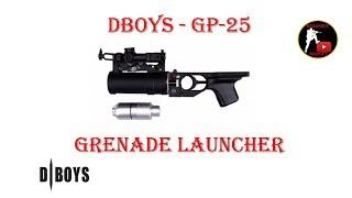 """Реплика подствольного гранатомета ГП-25 """"Костёр"""" от Китайской фирмы..."""