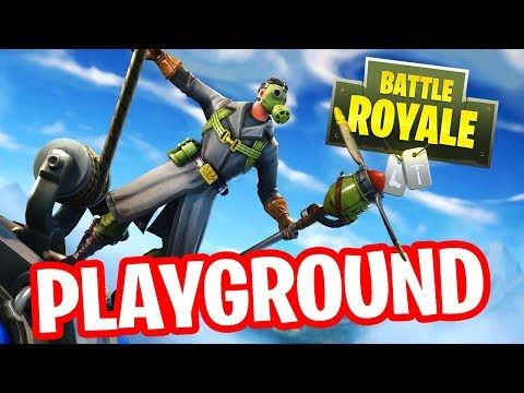 FORTNITE PLAYGROUND !! ft. Aziz | Stream Playback 10-7-2018