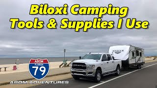 Biloxi Mississippi, Camping Tools & Essentials