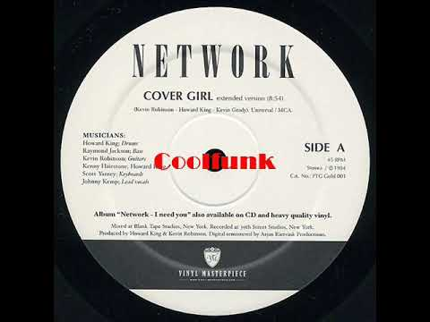 """Network - Cover Girl (12"""" Extended Funk)"""