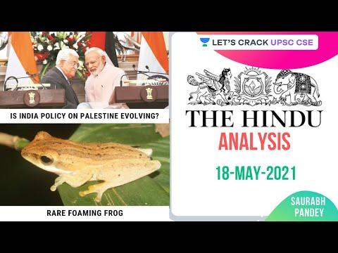 18th May 2021 | The Hindu Newspaper Analysis | Current Affairs | UPSC CSE | Saurabh Pandey