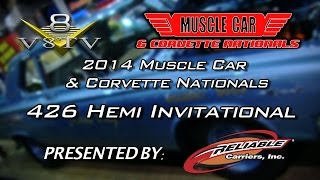 1965 Dodge Coronet A990 426 Hemi at Muscle Car and Corvette Nationals Video V8TV