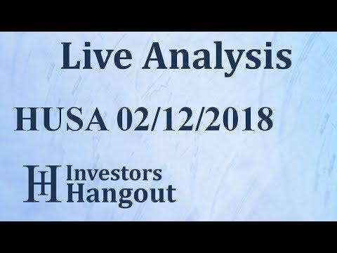 HUSA Stock Houston American Energy Corporation Live Analysis 02-12-2018